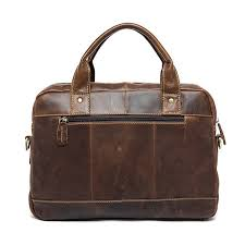 hot deal us 88 68 for westal men s briefcase leather laptop bag men s genuine leather bag for men bussiness messenger bag men s office briefcase 8002