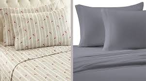 flannel vs cotton sheets which one is