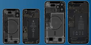 Peek inside your new iPhone 12 mini and iPhone 12 Pro Max with iFixit's  X-ray wallpapers - 9to5Mac