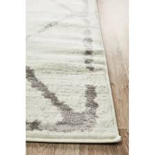 network rugs ivory grey diamond rug