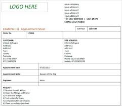 Job Card Template Sample Doc Sheet Templates Free Word Excel ...