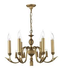 david hunt lighting cl16 classic 6 light pendant in antique gold