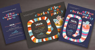 Design Party Invitations Warm Up The Holidays With Office Party Designs