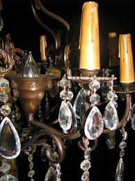 hand forged wrought iron 20l chandelier ch41