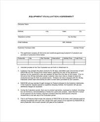 Employee Equipment Loan Agreement Template Loan Agreement Form ...