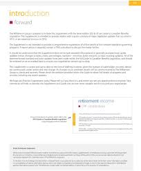 Guide To Canadian Benefits Legislation Supplement Pdf