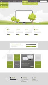 Clean Website Design Inspiration Clean Website Design With Ecological Theme