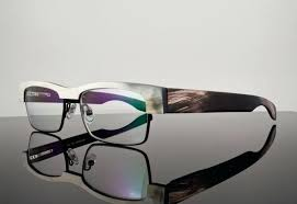 gold and wood frames gold wood genuine natural buffalo horn eyeglasses frames a lifestyle dark wood