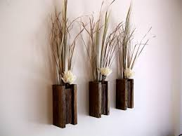 wall sconce ideas set of three vase rustic reclaimed