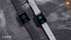 Первые смарт-<b>часы Xiaomi Mi</b> Watch под собственным брендом ...