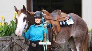 Douglas County 4 Hers Compete In State Fair Horse Show Echo Press