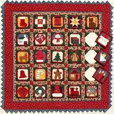 Catalog: Quilter's Advent Calendar & Quilter's Advent Calendar. This poster size quilt (31