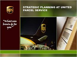 Ups Organizational Chart College Paper Sample