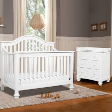 convertible crib sets. Exellent Convertible Davinci 2 Piece Nursery Set  Clover 4in1 Convertible Crib And Dresser  Changer In White FREE SHIPPING Throughout Sets B