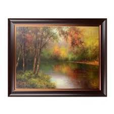 hideaway lake framed art print at kirkland s on transitional framed wall art with malanta knowles 7663 legacy i transitional framed wall art pack of