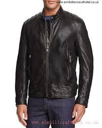andrew marc boarder leather brilliancy moto jacket jet black black 34kw9586 men s jackets coats bhklos0149
