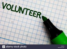 Individual Graph Paper Writing Note Showing Volunteer Business Photo Showcasing