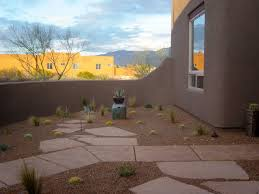 Landscape Design Oro Valley Mid Mod Design Front Courtyard For Santa Fe Style Home