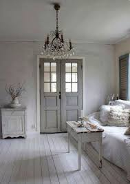 Scandinavian Style Farmhouse Room With Muted Tranquil Color Palette On  Hello Lovely Studio.