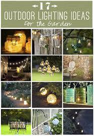 Outdoor lighting ideas diy Yard Tea Clothing Co Diy Lighting Diy Lighting Outdoor Solar Lighting Ideas For The Garden