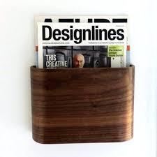 Wooden Magazine Holder Ikea Magazine Holder Wall Magazine Rack Wall Hung Wooden Magazine 80