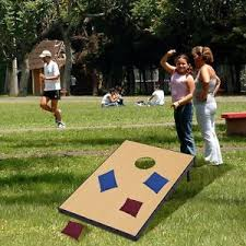 Wooden Bean Bag Toss Game Fun 100 Foldable Wooden Bean Bag Toss Corn Hole Game Set 100 Boards 73
