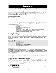 5 Simple Job Resume Examples Budget Template Letter