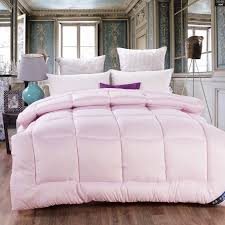 bedclothes mulberry duvets white comforter winter quilts duvet ... & bedclothes mulberry duvets white comforter winter quilts duvet silk  comforter quilted double bed patchwork quilt couette edredon-in Comforters  & Duvets from ... Adamdwight.com
