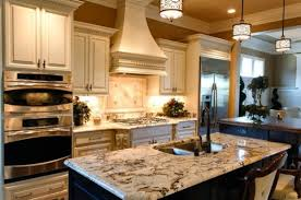 view in gallery pendant lights that blend in with the pattern of the kitchen island top