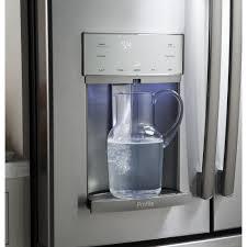 Ge Profile Refrigerator Problems Pye22kskss Ge Profile 36 222 Cu Ft Counter Depth French Door
