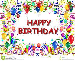 Free Birthday Posters Happy Birthday Poster Stock Illustration Illustration Of Birth