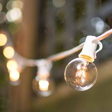 globe string lights indoor outdoor plug in end to end connector