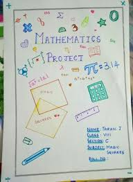 Cover Page For Project New Maths Cover Page Maths Project Cover Creative Innovative