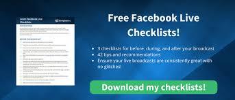 Facebook Outline Template Facebook Live Strategy Planning Timeline Templates Strongstart