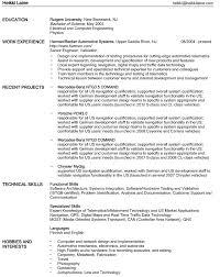 stunning computer science undergraduate resume pictures simple