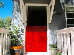 Diy Exterior Dutch Door Old Door Turned Into A Dutch Door With Benefits Homejelly