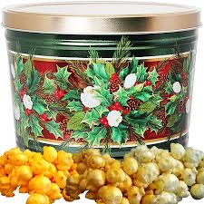 bouquet popcorn tin 2 gallon