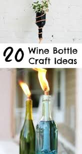 Wine Bottle Decorations Handmade 100 Diy Wine Bottle Crafts Make Art From Emptiness Wine Bottle 80