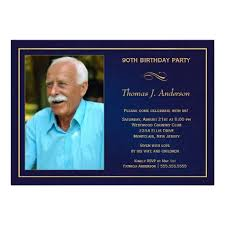 90th Birthday Party Invitations Add Your Photo Customize Online