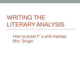 literary analysis paper persepolis writing the literary analysis how to avoid f s and impress mrs singer