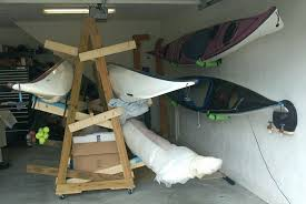 diy kayak garage storage beautiful diy kayak garage storage unique canoe storage rack build outdoor