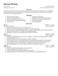 Resume Example Cashier Letter Resume Directory
