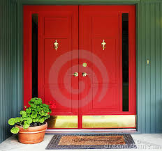 red double front doors. Simple Red Intended Red Double Front Doors B