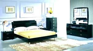 Black Lacquer Bedroom Set White Lacquer Furniture Bedroom Pretty ...