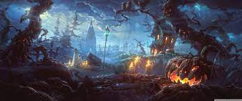 Happy Halloween Day Ultra HD Desktop ...