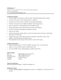 Datastage LinkedIn obiee sample resume sap security resumes examples resume  sample