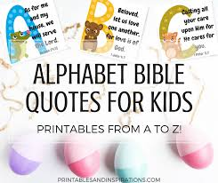 Bible Quotes Best Free Printable Alphabet Memory Verses For Kids Bible Quotes
