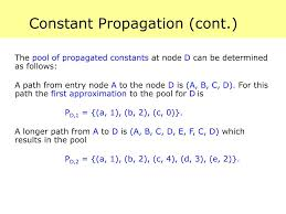 Constant Propagation In Compiler Design Ppt Data Flow Analysis 3 15 411 Compiler Design Powerpoint