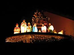 15 dazzling ideas for lighting your surroundings this saveenlarge outdoor lighted nativity scene
