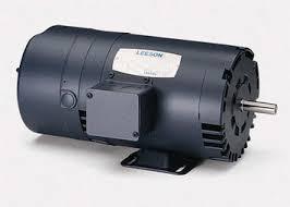 leeson electric brake motors electric motor warehouse 10 hp 1760 rpm 215t frame odp rigid base brake motor 208 230